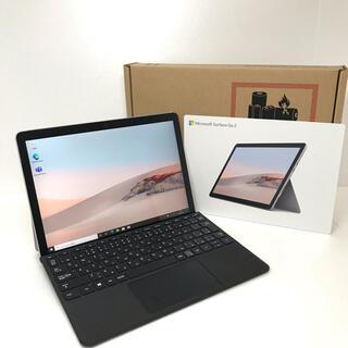マイクロソフト(Microsoft)の[ほぼ新品]Surface go2 4G/64G  Office2019(ノートPC)