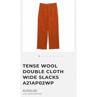 1LDK SELECT - AURALEE 21aw DOUBLE CLOTH WIDE SLACKS