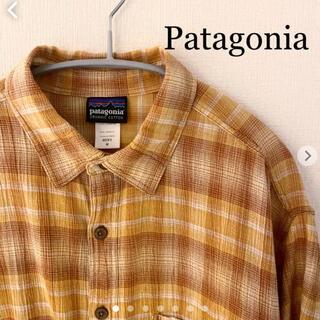 パタゴニア(patagonia)のパタゴニア(Patagonia)半袖シャツ Mサイズ モロッコ製 (シャツ)