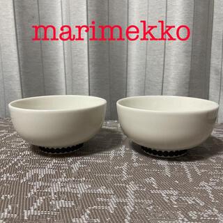 marimekko - ②マリメッコ ラシィマット シイルトラプータルハ 茶碗 ボウル 2点