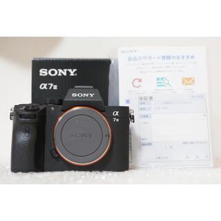 ソニー(SONY)のSONYミラーレスカメラ α7IIIボディ(ミラーレス一眼)