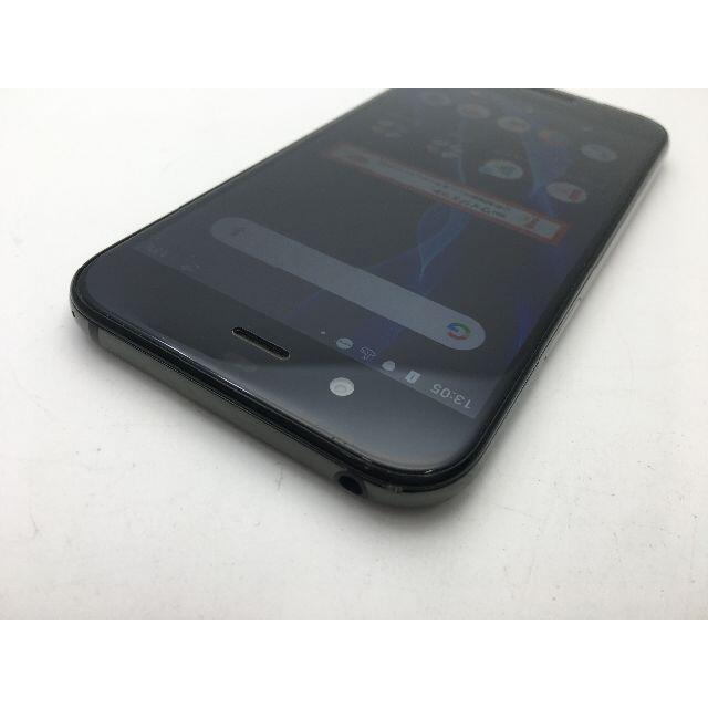 SHARP(シャープ)のSIMフリー中古 au AQUOS R SHV39 ブラック 198 スマホ/家電/カメラのスマートフォン/携帯電話(スマートフォン本体)の商品写真