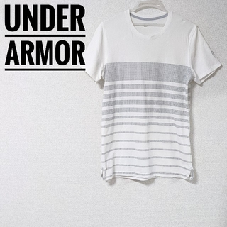UNDER ARMOUR - アンダーアーマー Tシャツ Lサイズ 白