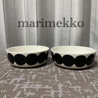 マリメッコ(marimekko)の①美品 マリメッコ ラシィマット シイルトラプータルハ ボウル 2点(食器)