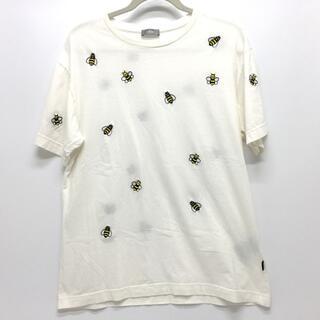 ディオール(Dior)のディオール BEE 蜂 kaws コラボ トップス 白T 半袖Tシャツ ホワイト(Tシャツ/カットソー(半袖/袖なし))