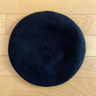 ユニクロ(UNIQLO)のシンプルなベレー帽(ハンチング/ベレー帽)