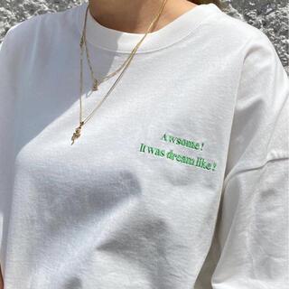 ジャーナルスタンダード(JOURNAL STANDARD)のoriens journal standard エモーショナルメッセージTシャツ(Tシャツ(半袖/袖なし))