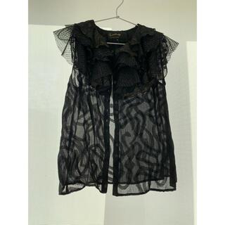 ルシェルブルー(LE CIEL BLEU)のルシェルブルー L'vintage  ⭐︎黒ブラック ブラウス(シャツ/ブラウス(半袖/袖なし))