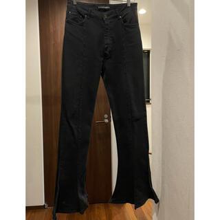 RAF SIMONS - y/project trumpet jeans black