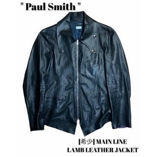 ポールスミス(Paul Smith)のPaul Smith ポールスミス [希少]メインライン/ラムレザージャケット(レザージャケット)