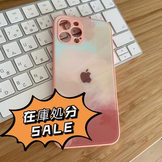 【在庫処分セール】iPhone 12 proケース ピンク シリコン スマホ