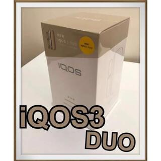 IQOS - 新型 iQOS3 DUO  ブリリアントゴールド【新品、未使用】