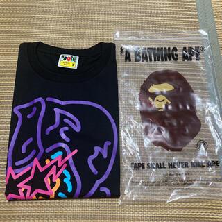 A BATHING APE - APE BAPE KAWS NEON GENERAL tシャツ SHARK m