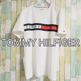 TOMMY HILFIGER - 【美品】TOMMY HILFIGER トミー ヒルフィガー 半袖 Tシャツ 白