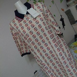 Gucci - GUCCI グッチ 新品 メンズ L GG ポロシャツ