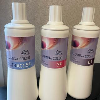 WELLA - イルミナ クリームディベロッパー 6% 新品未使用