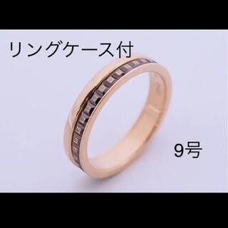 ブシュロン(BOUCHERON)のブシュロン チョコレート&ピンクゴールド9号(リング(指輪))