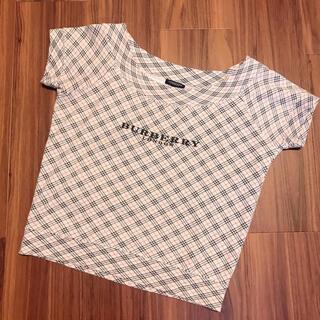 BURBERRY - 【極美品】Burberry バーバリー ノバチェック レディース Tシャツ M