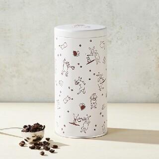 タリーズコーヒー(TULLY'S COFFEE)のタリーズ かまわぬ 鳥獣戯画 ビーンズキャニスター(日用品/生活雑貨)