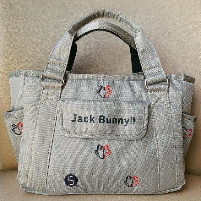 PEARLY GATES(パーリーゲイツ)のJack Bunny ジャックバニー PEARLY GATES カートバッグ  スポーツ/アウトドアのゴルフ(バッグ)の商品写真