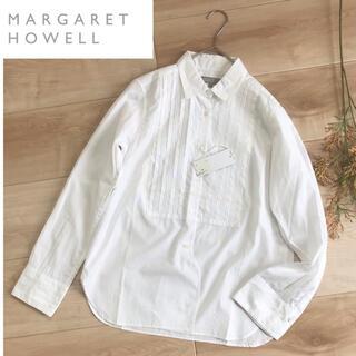 MARGARET HOWELL - マーガレットハウエル ブラウス シャツ 長袖 訳あり サイズ1 未使用