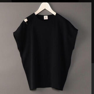 BEAUTY&YOUTH UNITED ARROWS - roku 6 ロク SHOULDER SLIT KNIT PULLOVER