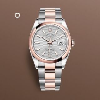 ロレックス(ROLEX)のロレックス デイトジャスト36 126201 フルーテッドモチーフ (腕時計(アナログ))