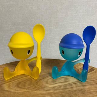 アレッシィ(ALESSI)のALESSI  エッグカップ2個セット(食器)