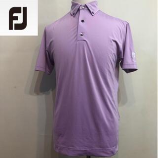 フットジョイ(FootJoy)のフットジョイ ゴルフ スポーツシャツ ポロシャツ パープル Mサイズ(ウエア)