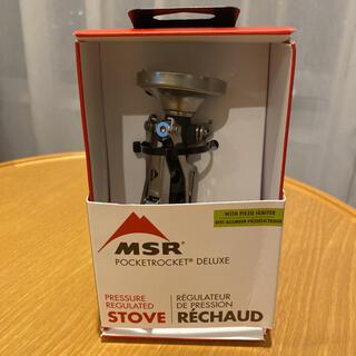 エムエスアール(MSR)のMSR PocketRocket Deluxe ポケットロケット デラックス(ストーブ/コンロ)