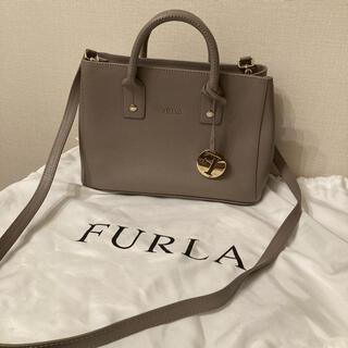 Furla - FURLA フルラ グレー ショルダーバック