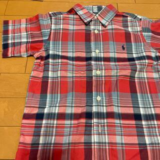 ポロラルフローレン(POLO RALPH LAUREN)のラルフローレンチェックシャツ サイズ7(Tシャツ/カットソー)