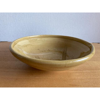 黄瀬戸 盛り鉢 皿 大皿 和食器 陶器 器 鉢