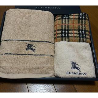 BURBERRY - BURBERRY バーバリー  バスタオル&フェイスタオル