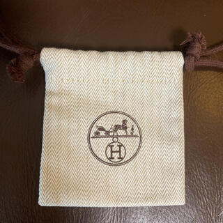 Hermes - エルメス 巾着  1枚 新品未使用