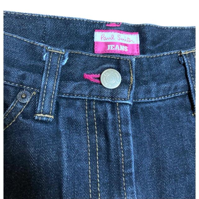 Paul Smith(ポールスミス)のポールスミス PaulSmith デニムスカート ブラック 美品 38サイズ レディースのスカート(ひざ丈スカート)の商品写真