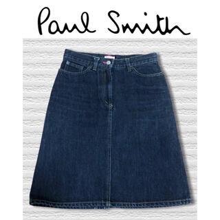 Paul Smith - ポールスミス PaulSmith デニムスカート ブラック 美品 38サイズ