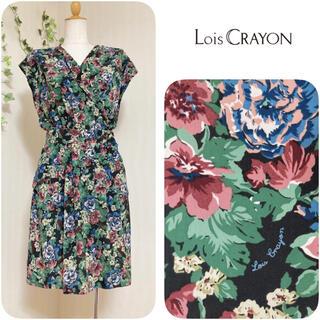 Lois CRAYON - ロイスクレヨン ✽ フラワープリントワンピース ✽ 日本製