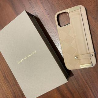 ビームス(BEAMS)のIdeal of Sweden☆1ヶ月使用☆iPhone12/12proケース(iPhoneケース)