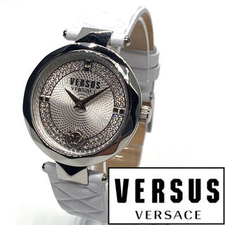 ジャンニヴェルサーチ(Gianni Versace)の★海外限定品! シンプルな美しさ! ヴェルサス ヴェルサーチ レディース 腕時計(腕時計)