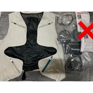 マキタ(Makita)の2021 マキタ空調服セット S〜Lサイズ 調整可能 makita 空調服 L(ベスト)