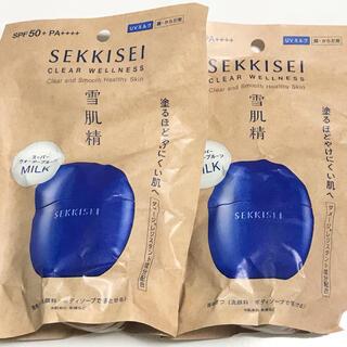 雪肌精 - 雪肌精 クリアウェルネス UV ディフェンス ミルク ×2
