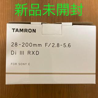 TAMRON - 新品未開封 タムロン 28-200mm F/2.8-5.6 Di Ⅲ RXD