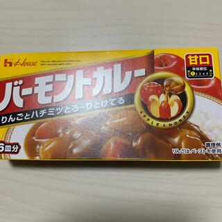 ハウスショクヒン(ハウス食品)のバーモントカレー 6皿分(レトルト食品)