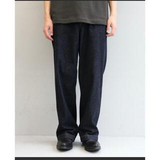 Jieda - order loose denim pants one wash