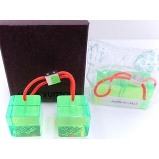 ルイヴィトン(LOUIS VUITTON)のルイヴィトン【 ヘアキューブ 】◆グリーン・グリーン セット ◆新品 BOX付(その他)