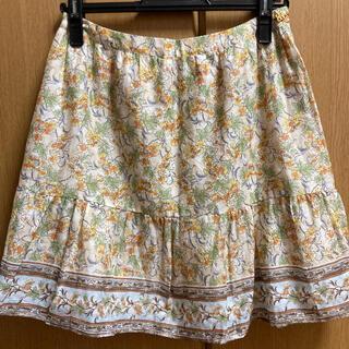 ルージュヴィフ(Rouge vif)の花柄スカート♪ ルージュヴィフ(ミニスカート)