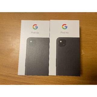Google Pixel - 『2台セット』新品未使用Google Pixel 4a 128GB Black