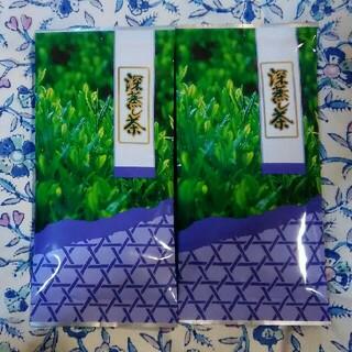 令和3年産 新茶 深蒸し茶 緑茶 煎茶 1番茶 100g 2袋