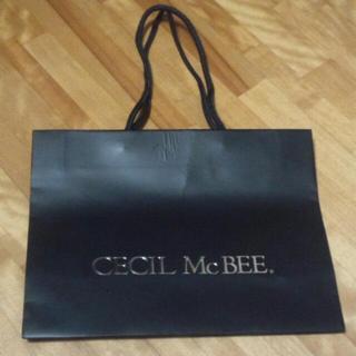 セシルマクビー(CECIL McBEE)のCECIL McBEE  紙ショッパー(ショップ袋)